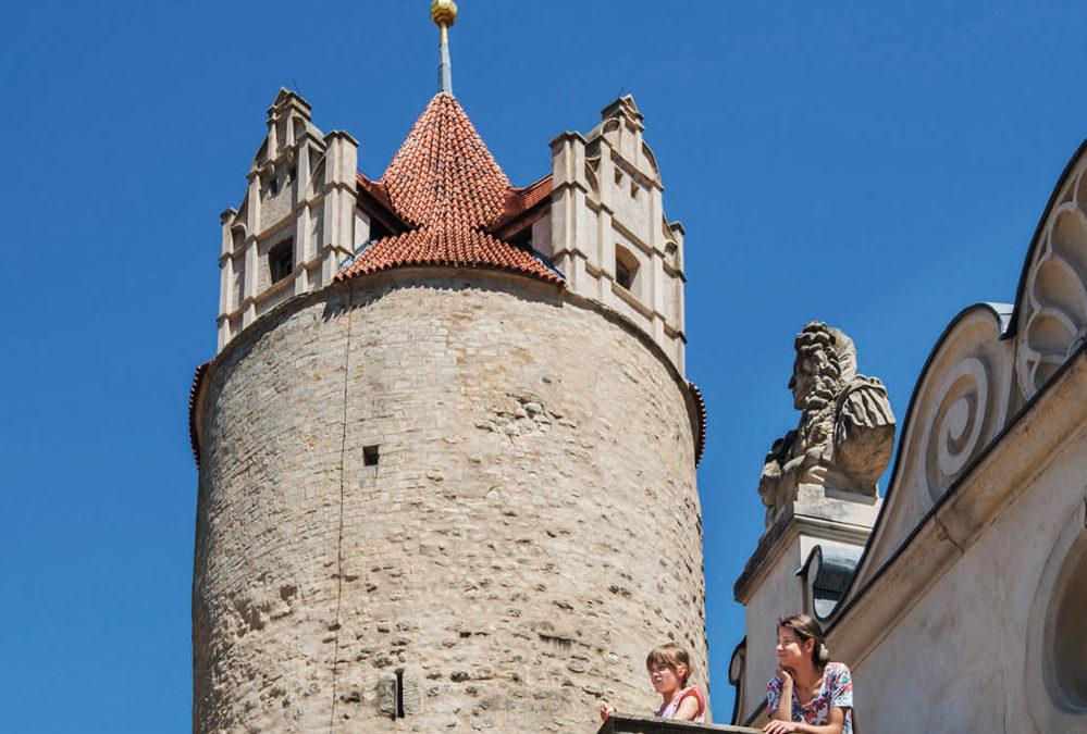 Der Eulenspiegelturm im Schloss